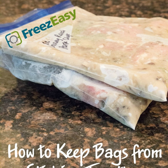 How to Keep Bags from Sticking Together in your Freezer